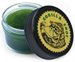 Gorilla Snot - Pasta de fijación para púas y baquetas, color verde