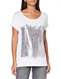 Berydale BD299, Camiseta Para Mujer, Multicolor (White/Silver (Knitted Loops)), 38 (Talla del fabricante: 38/40)