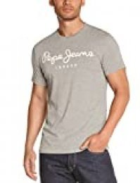 Pepe Jeans Original Stretch Camiseta, Gris (Grey Marl 933), 2X-Large para Hombre