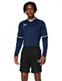 Under Armour Challenger III Knit Cortos para Entrenar, Pantalón Short De Hombre para Correr, Negro, MD