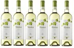Verdeo Verdejo, Vino Blanco - 6 botellas de 75 cl, Total: 4500 ml