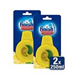 Finish Ambientador para lavavajillas fragancia limón - 2 unidades - 120 lavados