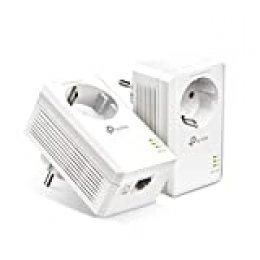 TP-Link [Nuevo] TL-PA7017P Kit AV1000 Gigabit Powerline Starter Kit | Sin WiFi| 1 Gigabit Puerto | Super Ahorro de Energía