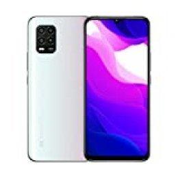 """Xiaomi Mi 10 Lite 5G Teléfono 6GB RAM + 128GB ROM, 6,57"""" Pantalla de Color Verdadero, Procesador Snapdragon 765G Octa-Core, 16MP Frontal y 48MP AI Quad Cámara Trasera Versión Global (Blanco)"""