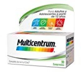 Multicentrum Pfizer, Complemento Alimenticio con 13 Vitaminas y 11 Minerales, para Adultos y Adolescentes a partir de 12 años - 90 Comprimidos