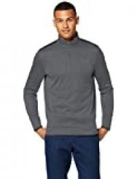 Under Armour SweaterFleece 1/2 Zip Parte Superior del Calentamiento, Hombre, Negro, SM