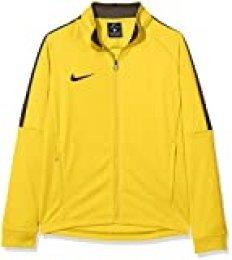 NIKE K Dry Academy18 Football J Chaqueta, Unisex niños, Amarillo (Tour Yellow/Anthracite), S