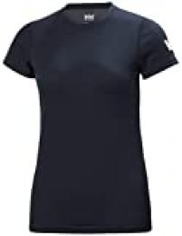 Helly Hansen W HH Tech T-Shirt Camiseta, Mujer, Navy, S