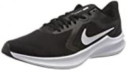 NIKE Downshifter 10, Running Shoe Mens, Black/White-Anthracite, 45 EU