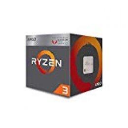 AMD Ryzen 3 3200G, Procesador con Disipador de Calor Wraith Stealth (4 MB, 4 Núcleos, Velocidad de 4 GHz, 65W)
