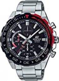 Casio Reloj Cronógrafo para Hombre de Cuarzo con Correa en Acero Inoxidable EFR-566DB-1AVUEF