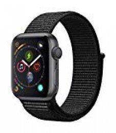 Apple Watch Series 4 Reloj Inteligente Gris OLED GPS (satélite) - Relojes Inteligentes (OLED, Pantalla táctil, GPS (satélite), 18 h, 30,1 g, Gris)