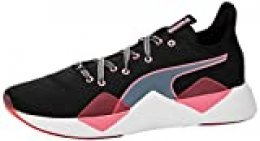 PUMA Incite FS Jelly WN'S, Zapatillas Deportivas para Interior para Mujer, Negro Black/Bubblegum White, 40.5 EU