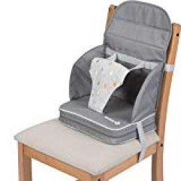 Safety 1st  Travel Booster, Silla elevada para bebés, 6 a 36 meses (<15 kg), Gris (Warm Grey)