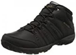 Columbia Peakfreak Nomad Chukka WP Omni-Heat Zapatos hombre , Negro(Black, Goldenrod), 40 EU