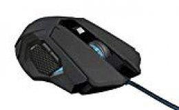Trust Gaming GXT 158 - Ratón para gaming (láser, con sensor de 5000 PPP e iluminación LED)