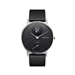Withings Steel HR Reloj inteligente, Unisex Adult, Negro, 36 mm