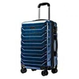 CarryOne Maleta Superligera con 4 Ruedas Duales Giratorias | Contraseña Cerradura Equipaje para Viajar-TD5