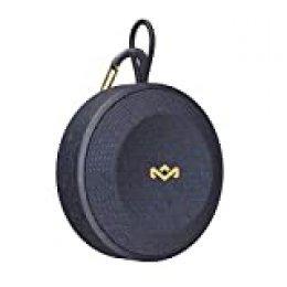 House of Marley NO Bounds Altavoz inalámbrico Bluetooth, Tiempo de reproducción de hasta 10 Horas, Resistente al Polvo a Prueba de Agua, Azul
