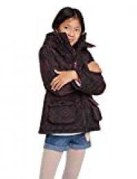 Desigual Coat Clementina Abrigo, Negro (Negro 2000), 4 años para Niñas