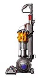 Dyson Small Ball Multifloor-Aspiradora sin Bolsa Vertical (900 W de Potencia, 80 W de succión, Capacidad del Cubo 0.8 litros, 5 años de garantía) Color Amarillo, 86 Decibelios, Metal, plástico