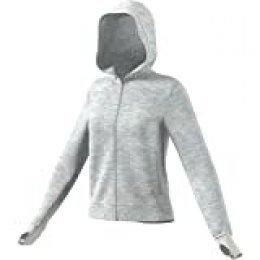 adidas W Ver FZ HD Sudadera, Mujer, Orbit Grey Mel, XL