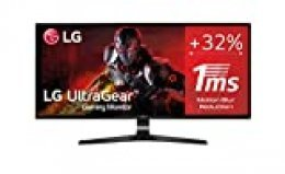 "LG 34UM69G-B - Monitor Gaming de 86,7 cm (34"") WFHD (2560 x 1080, IPS, 21:9, DisplayPort x1, HDMI x1, USB-C x1, AUX x1, Ultrawide, Antireflejo), Negro"