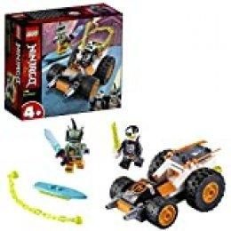LEGO Ninjago - Deportivo Sísmico de Cole, Set de Construcción Inspirado en la Carrera Prime Empire, Incluye dos Minifiguras de Personajes, a Partir de 4 Años (71706)