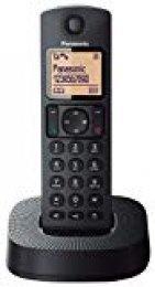 Panasonic KX-TGC310 - Teléfono Fijo Inalámbrico (LCD, Identificador De Llamadas, 16H Uso Continuo, Localizador, Agenda De 50 números, Bloqueo Llamada, Modo ECO, Reducción Ruido), Color Negro