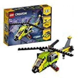 LEGO Creator - Aventura en Helicóptero, juguete de vehículo para construir y de aventuras aéreas (31092)