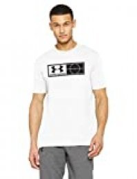 Under Armour UA Tag tee Camiseta de Manga Corta, Hombre, Blanco (100), L