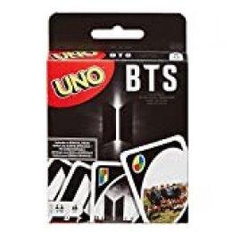 Mattel - Games UNO BTS, juego de cartas del grupo de música coreano ( GDG35)
