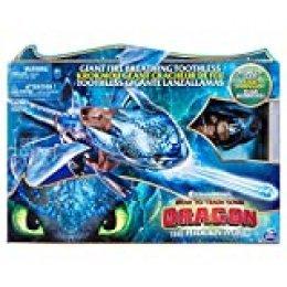 Cómo Entrenar a tu Dragón Dragón Lanzallamas Desdentado (BIZAK 61926568)