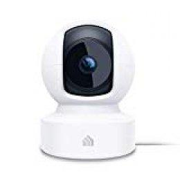 TP-Link KC110 - Cámara Vigilancia, Cámara IP WiFi 1080p Full HD 130° Gran Angular, Zonas de Detección de Movimiento Ajustables, Visión Nocturna, Audio de 2 Vias y Nube, 360° Vistas rotacionales