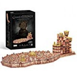 CubicFun Game of Thrones (Got) Puzzle 3D King'S Landing Model Kit Regalo para Adultos y niños 8, Song of Ice and Fire, 262 Piezas