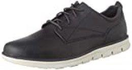 Timberland Bradstreet Plain Toe Sensorflex, Zapatos de Cordones Oxford para Hombre, Gris (Dark Grey Full Grain), 40 EU