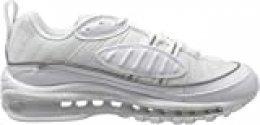 Nike W Air MAX 98, Zapatillas de Running para Mujer, Blanco (White/White/White 114), 36 1/2 EU