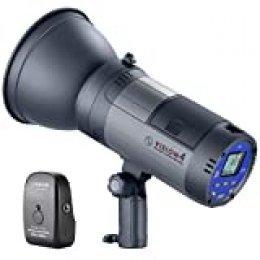 Neewer Visión 4300Ws 2.4G Li-Ion Batería Estudio Aire Libre Flash Estroboscópica Monolight con Disparador para Cubrir 700 Flashes A Plena Potencia y Reciclar en 0.4-2.5 Segundos, Montaje de Bowens
