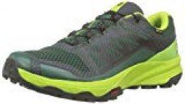Salomon XA Discovery GTX, Zapatillas de Trail Running para Hombre, Verde Trekking Green Lime Green Black, 44 EU