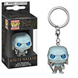 LAST LEVEL- Keychain Juego de Tronos Caminante Blanco Llavero Pop Game of Thrones White Walker, Multicolor, Talla única (Funko 1)