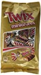 TWIX mini barritas chocolate con leche bolsa 130 gr