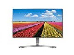 """LG 24MP88HV-S - Monitor FHD de 60,4 cm (23,8"""") con Panel IPS (1920 x 1080 píxeles, 16:9, 250 cd/m², sRGB >99%, 1000:1, 5 ms, 75 Hz) Color Plata"""