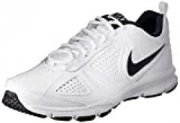 Nike T-Lite 11, Zapatillas de Cross Training para Hombre, Blanco (White/Black/Obsidian), 38.5 EU