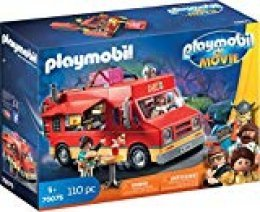 PLAYMOBIL: THE MOVIE Food Truck Del, a Partir de 5 Años (70075)