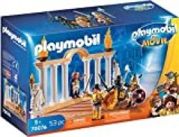 PLAYMOBIL: THE MOVIE Emperador Maximus en el Coliseo, a Partir de 5 Años (70076)