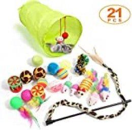 Bojafa Cat Toys 21pieza(s) juguete interactivo para gatos
