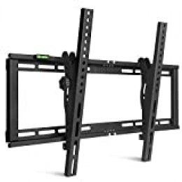 "SIMBR Soporte TV Pared Inclinable ±15° VESA Máx. 600x400mm Soporte Mural para LED/LCD/Plasma/Curvada Televisores de 26""-75"" Carga Máx. 60 kg"