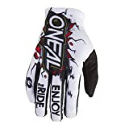 Oneal Matrix Youth Glove Villain White XL/7 Protecciones MX Motocross, Adultos Unisex