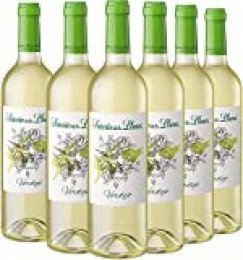 Señorío de los Llanos Verdejo - Vino Blanco, Pack de 6 Botellas x 750 ml