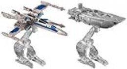 Hot Wheels Star Wars: The Force Awakens First Order Transporter vs. X-Wing Fighter Starship 2-Pack by Hot Wheels